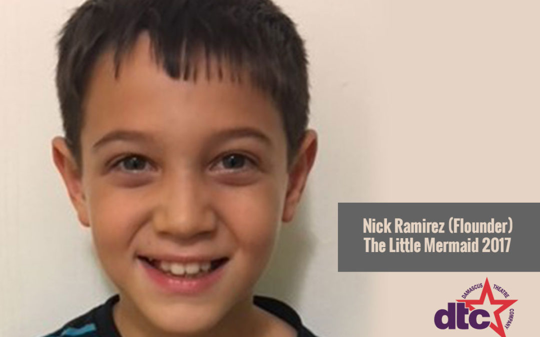 MEET THE ACTOR – Nick Ramirez (Flounder)